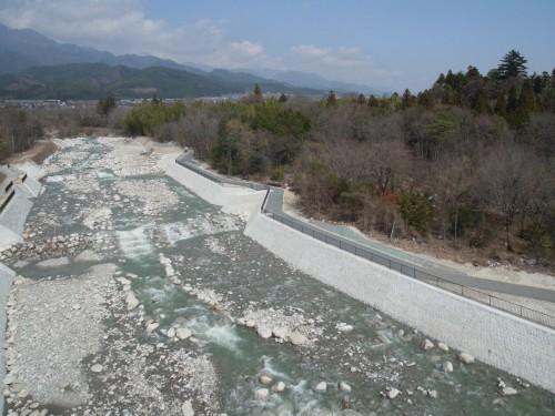 平成25年度天竜川水系片桐松川大栢井地区床固工事